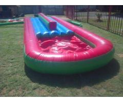Jumping castles,water slides,kids chairs & tables,adult chairs & tables for hire