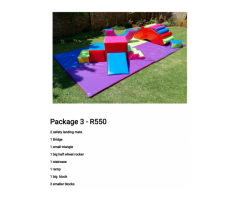 Soft play hire for toddlers
